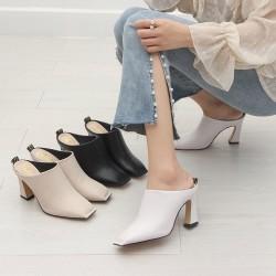 Fashione Shanone | Square toe mules