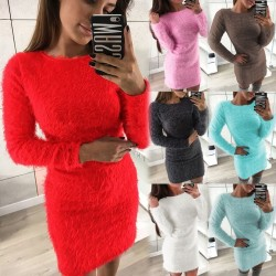 Fashione Shanone | Robe pull fluffy