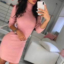 Fashione Shanone | Turtleneck sweater dress