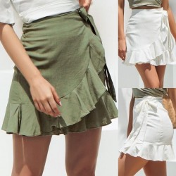Fashione Shanone | Frilly wrap skirt