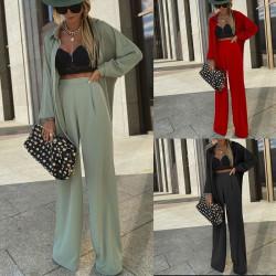 Fashione Shanone | Ensemble pantalon et veste loose