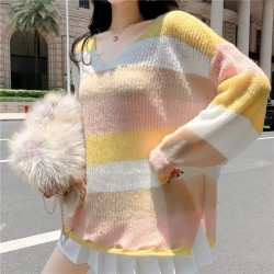 Fashione Shanone | Stripped loose sweater