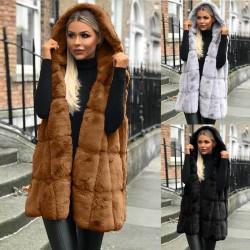 Fashione Shanone | Veste en fourrure sans manche