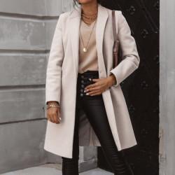 Fashione Shanone | Manteau en laine trench