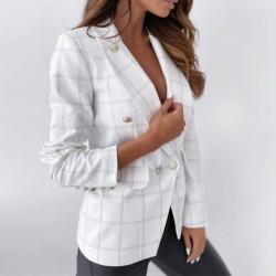 Fashione Shanone | Plaid blazer