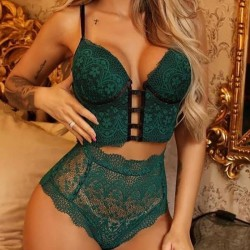 Fashione Shanone | Lace thong and corset set