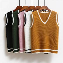 Fashione Shanone | Bicolor vest sweater