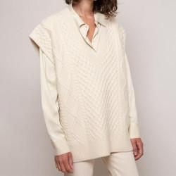 Fashione Shanone | Twisted vest sweater