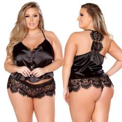 Fashione Shanone | Plus size top and panties pajamas
