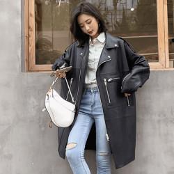 Fashione Shanone | Long perfecto en cuir