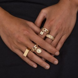 Fashione Shanone | Gold rings set