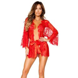 Fashione Shanone   Robe de chambre érotique en dentelle