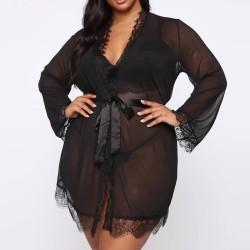 Fashione Shanone | Robe de chambre érotique grande taille