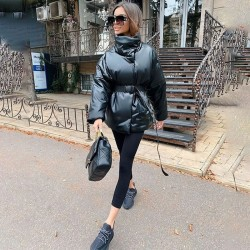 Fashione Shanone | Down coat with belt