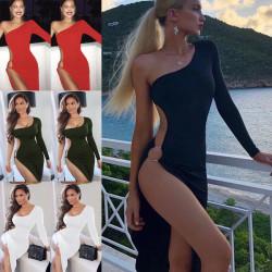 Fashione Shanone | Robe asymétrique fendue