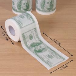 Rouleau de papier toilette 100 dollars