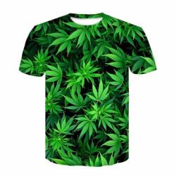 T-shirt manches courtes cannabis