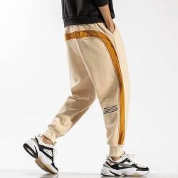 Pantalon de jogging bicolore