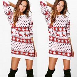 Christmas mountain dress