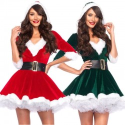 A-line mother Christmas dress