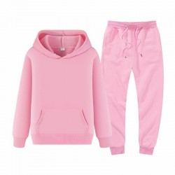 Ensemble de survêtement sweat à capuche et pantalon