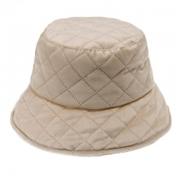 Quilted bucket hat