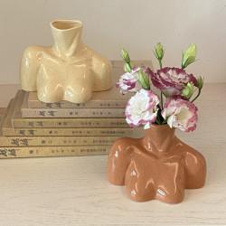 Vase buste art poitrine