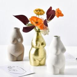 Vase corps de femme ronde