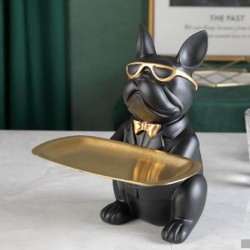 Sculpture fashion statue Bulldog