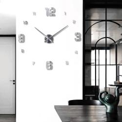 Décoration minimaliste horloge à quartz murale