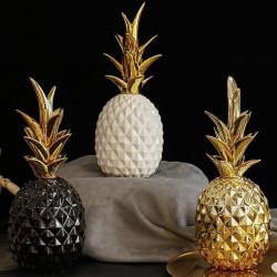 Décoration ananas en céramique