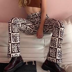 Pantalon évasé LOVE