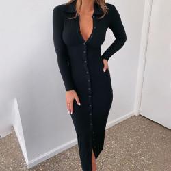Maxi polo dress