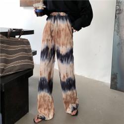 Pantalon large tie dye