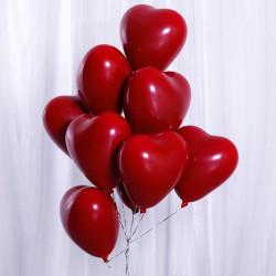 Valentine's day red heart balloon