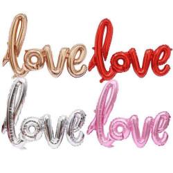 Ballon love spéciale Saint Valentin