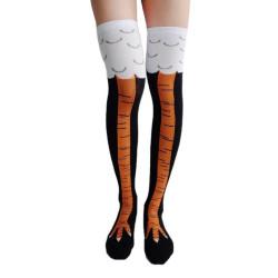 Chaussettes hautes jambes de poulet