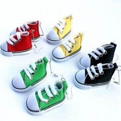 Converse style earrings