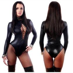 Body en latex noir