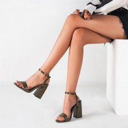 Sandales khakis