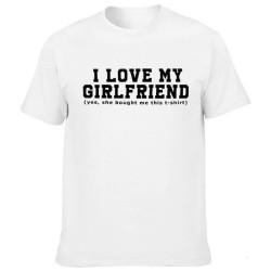T-shirt I LOVE MY GIRLFRIEND