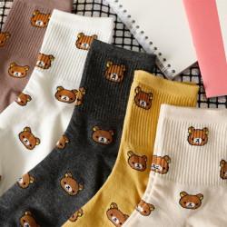 Chaussettes originales amusantes oursons