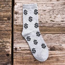 Chaussettes originales amusantes dollar
