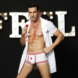 Sexy costume doctor for male