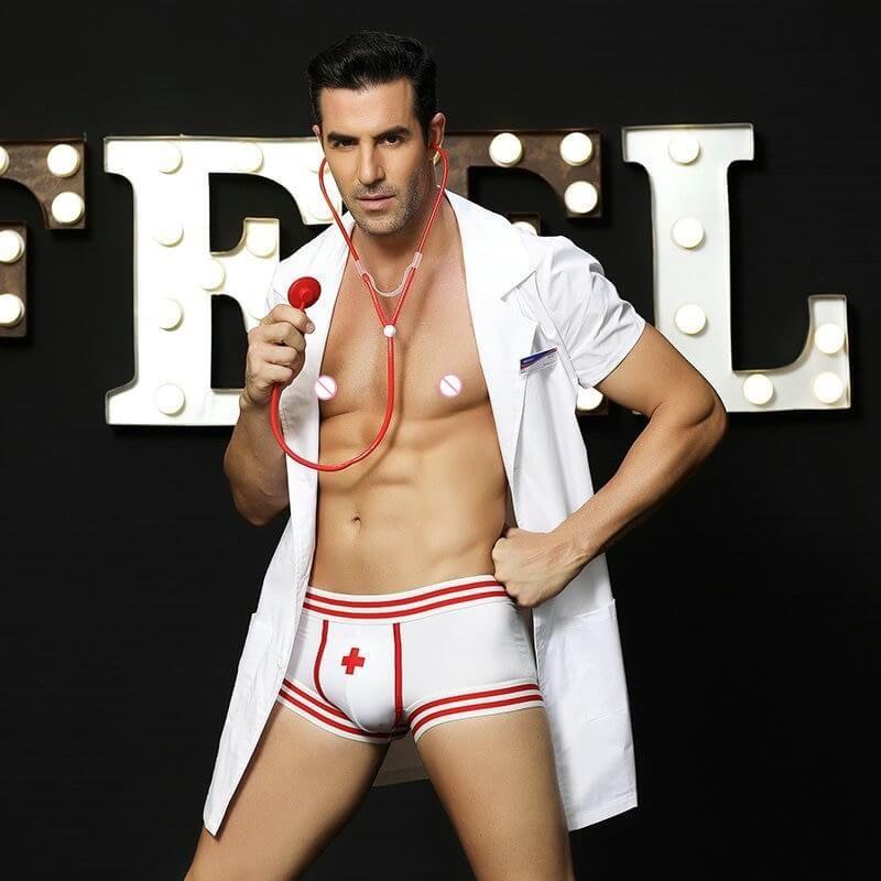 Costume sexy pour homme médecin