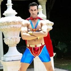 Sexy superman costume