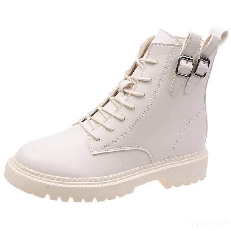 Boots à lacet