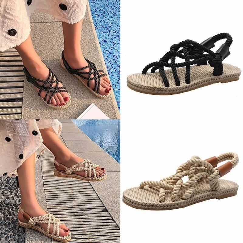 Sandales cordes