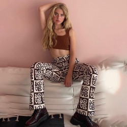 LOVE flared pants
