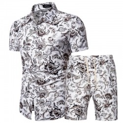 men-s-floral-beach-shorts-and-shirt
